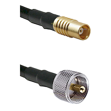 MCX Female On RG400 To UHF Male Connectors Coaxial Cable