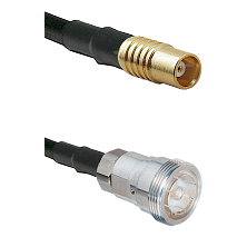 MCX Female on RG58C/U to 7/16 Din Female Cable Assembly