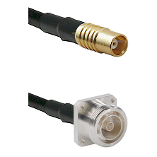 MCX Female on RG58C/U to 7/16 4 Hole Female Cable Assembly