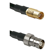 MCX Female on RG58C/U to C Female Cable Assembly