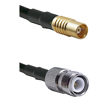 MCX Female on RG58C/U to TNC Reverse Polarity Female Cable Assembly