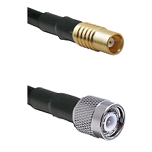 MCX Female on RG58C/U to TNC Male Cable Assembly