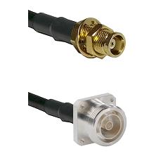 MCX Female Bulkhead on RG58C/U to 7/16 4 Hole Female Cable Assembly