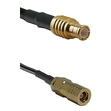 MCX Male on LMR-195-UF UltraFlex to SLB Female Cable Assembly