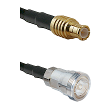 MCX Male on LMR200 UltraFlex to 7/16 Din Female Cable Assembly