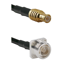 MCX Male on LMR200 UltraFlex to 7/16 4 Hole Female Cable Assembly