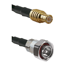MCX Male on LMR200 UltraFlex to 7/16 Din Male Cable Assembly