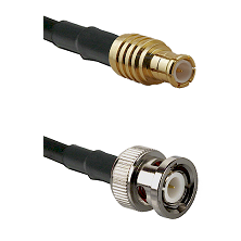 MCX Male on LMR200 UltraFlex to BNC Male Cable Assembly