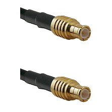 MCX Male on RG142 to MCX Male Cable Assembly