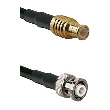 MCX Male on RG142 to MHV Male Cable Assembly
