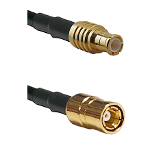 MCX Male To SMB Female Connectors RG179 75 Ohm Cable Assembly