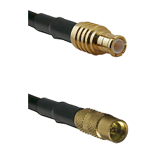 MCX Male on RG188 to MMCX Female Cable Assembly