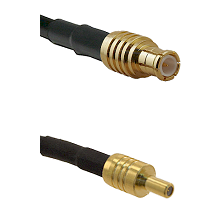 MCX Male on RG188 to SSLB Male Cable Assembly