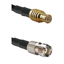MCX Male on RG188 to TNC Female Cable Assembly