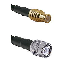 MCX Male on RG188 to TNC Male Cable Assembly