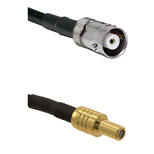 MHV Female on LMR200 UltraFlex to SLB Male Cable Assembly