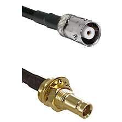 MHV Female on RG58C/U to 10/23 Female Bulkhead Cable Assembly