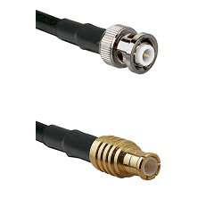 MHV Male on LMR-195-UF UltraFlex to MCX Male Cable Assembly