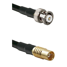 MHV Male on RG58C/U to MCX Female Cable Assembly