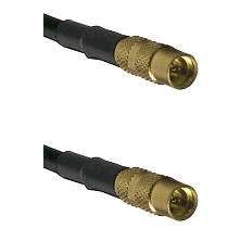 MMCX Female on LMR100 to MMCX Female Cable Assembly