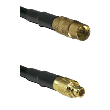 MMCX Female on RG188 to MMCX Male Cable Assembly