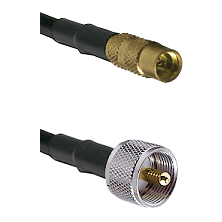 MMCX Female On RG223 To UHF Male Connectors Coaxial Cable