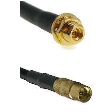 MMCX Female Bulkhead on RG188 to MMCX Female Cable Assembly