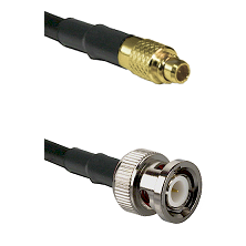 MMCX Male on LMR100 to BNC Male Cable Assembly