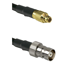 MMCX Male on LMR100/U to C Female Cable Assembly