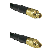 MMCX Male on LMR100 to MMCX Male Cable Assembly