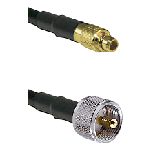 MMCX Male To UHF Male Connectors RG179 75 Ohm Cable Assembly