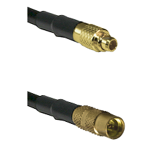 MMCX Male on RG188 to MMCX Female Cable Assembly
