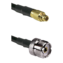 MMCX Male To UHF Female Connectors RG188 Cable Assembly