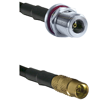 N Female Bulk Head On RG223 To MMCX Female Connectors Coaxial Cable