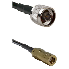N Male on RG58C/U to SLB Female Cable Assembly