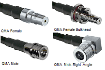 QMA RG-400 M17/128 Cable Assembly