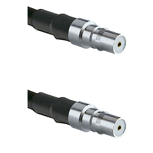 QMA Female on LMR-195-UF UltraFlex to QMA Female Cable Assembly