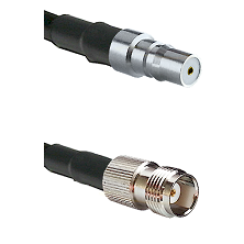 QMA Female on LMR-195-UF UltraFlex to TNC Female Cable Assembly
