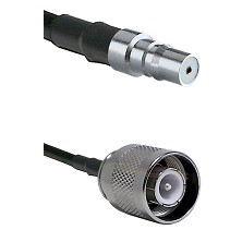 QMA Female Connector On LMR-240UF UltraFlex To SC Male Connector Cable Assembly