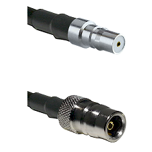 QMA Female on RG316DS Double Shielded to QN Female Cable Assembly