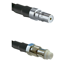 QMA Female on RG58C/U to FME Female Cable Assembly