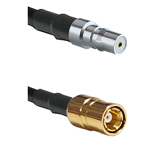 QMA Female on RG58C/U to SMB Female Cable Assembly