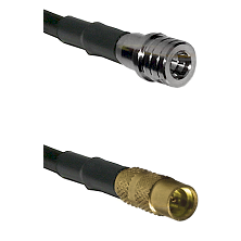 QMA Male on LMR100 to MMCX Female Cable Assembly