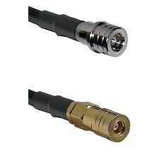 QMA Male on LMR200 to SSLB Female Cable Assembly