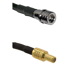 QMA Male on RG400 to SLB Male Cable Assembly