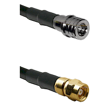 QMA Male on RG400 to SMC Female Cable Assembly