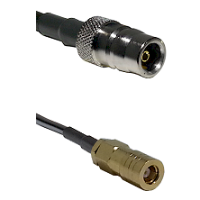 QN Female on LMR-195-UF UltraFlex to SLB Female Cable Assembly