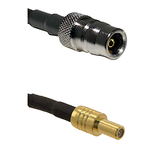 QN Female on LMR-195-UF UltraFlex to SLB Male Cable Assembly