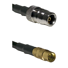 QN Female on RG188 to MMCX Female Cable Assembly