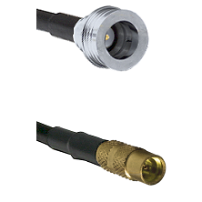 QN Male on LMR100 to MMCX Female Cable Assembly
